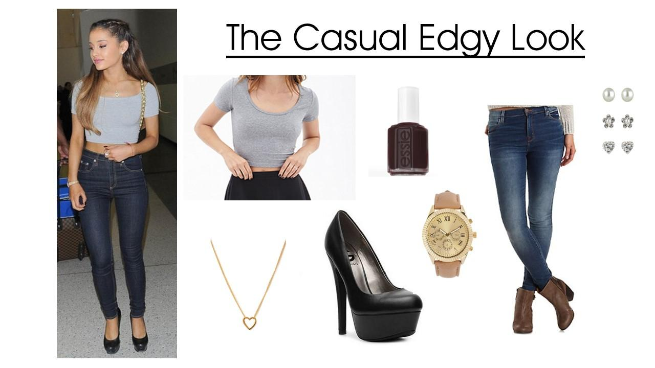 Ariana Grande Casual Outfits 2014