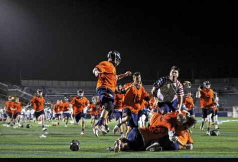 Newsday picture captures celebration of win over Garden City