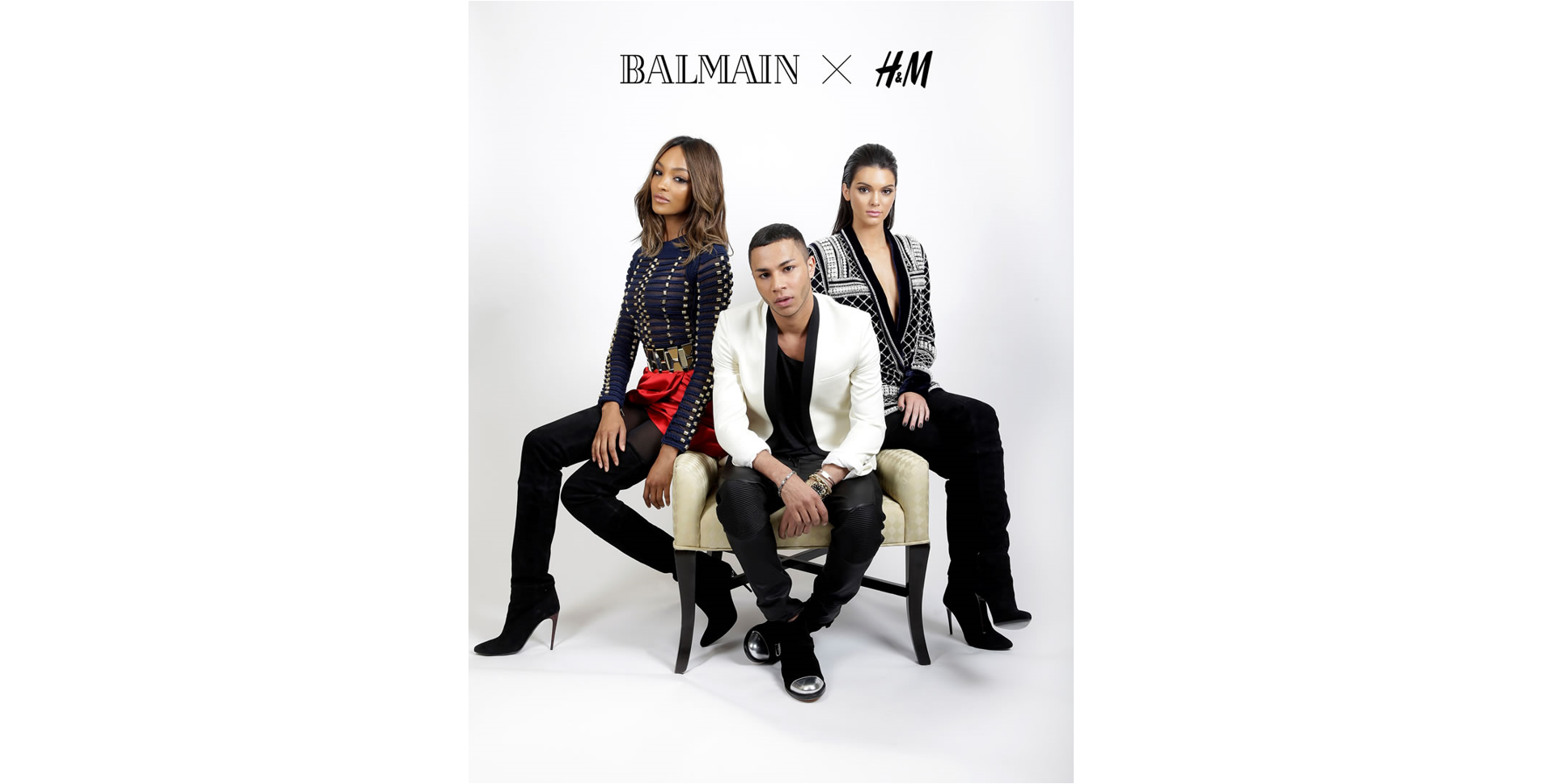 4c1aaced8ec Indian Ink | H&M X Balmain Collaboration Collection Sells Out In Minutes