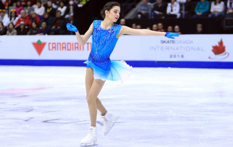 MISSISSAUGA, CANADA - OCTOBER 28:  Evgenia Medvedeva of Russia competes in the Ladies Short Program during the ISU Grand Prix of Figure Skating Skate Canada International at Hershey Centre on October 28, 2016 in Mississauga, Canada.  (Photo by Vaughn Ridley - ISU/ISU via Getty Images)