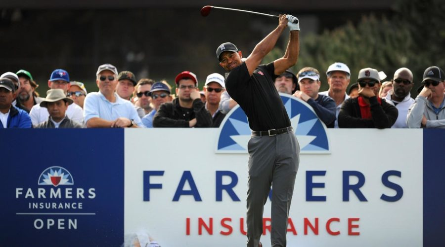 Tiger%27s+Solid+2018+Debut+at+the+Farmers+Insurance+Open