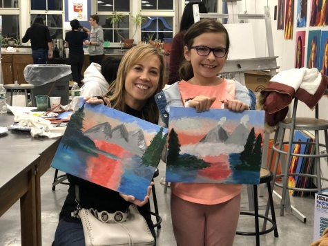 """Paint Night"" Offers a Brush With Greatness"