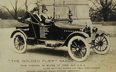 Driving through the Finish Line: The Fight for Suffrage on Wheels