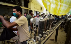 India's Critical COVID-19 Situation, and the Race to Vaccinate 1.36 Billion Citizens